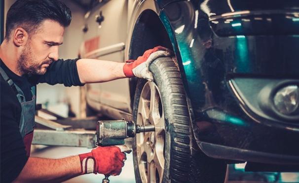 Скидка на Шиномонтаж 4 колес от R13 до R19 + балансировка в шиномонтажной мастерской на Рязанском проспекте. Скидка до 75%