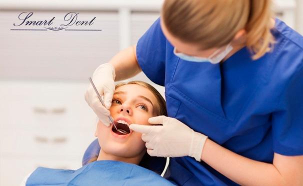 Скидка на Отбеливание Opalescence Xtra Boost, УЗ-чистка зубов, AirFlow и удаление зуба мудрости в клинике VIP-класса Smart Dent. Скидка до 89%