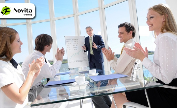 Участие в двухдневном тренинге «Живая продающая презентация» от тренингового центра «Новита-Тренинг». 8 и 9 февраля 2017 года. Скидка 50%