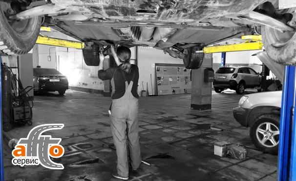Скидка на Диагностика автомобиля по 45 параметрам от компании «Аfto-сервис»! Скидка 72%