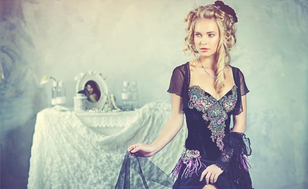 Фотосессия в дизайнерских платьях в фотостудии Pafos Studio, Juicyfoto, Studio4life, ProFotoff или MixFoto. Скидка до 92%