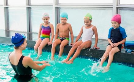 До 12 групповых занятий плаванием