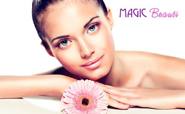 Инъекции «Ботокса», ультразвуковая или механическая чистка лица, инъекционная мезотерапия лица в салоне красоты Magic Beauty. Скидка до 80%
