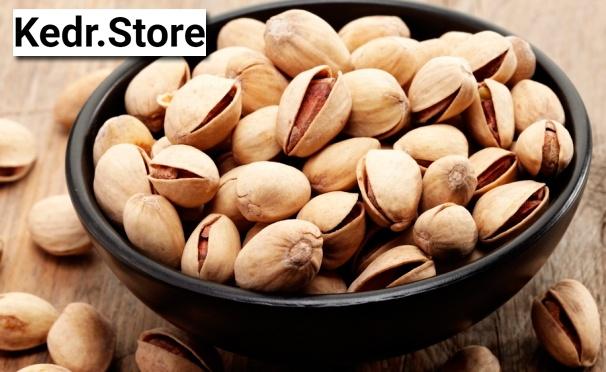 Скидка на Жареные соленые фисташки высшего сорта из Ирана или Калифорнии от интернет-магазина Kedr Store. Скидка до 46%