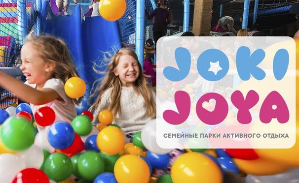 Скидка на Отдых для одного ребенка в будни или выходные в семейном парке активного отдыха Joki Joya. Скидка до 51%