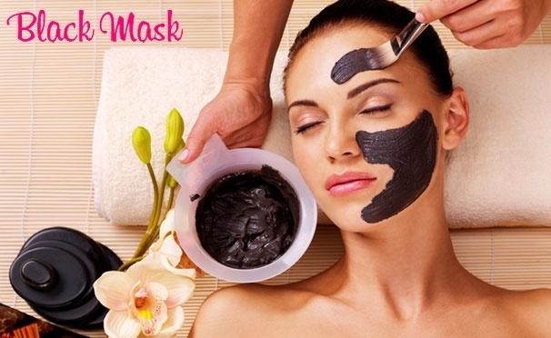 Скидка на Black Mask - черная маска-пленка от прыщей и черных точек. Скидка 50%