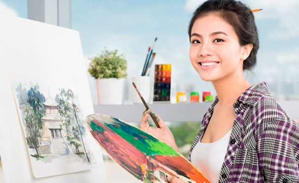 Скидка на Увлекательные мастер-классы в студии рисования YaDoArt: картина маслом, составление мозаики, флористика и не только! Скидка до 53%