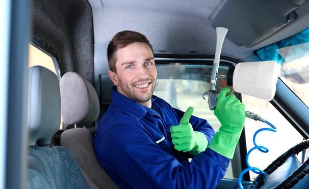 Скидка на Устранение неприятных запахов в автомобиле по технологии «Сухой туман» на автомойке Clean Club24 на Наметкина. Скидка 64%