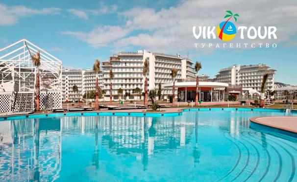 Скидка на Скидка 50% на проживание для двоих в «Сочи Парк Отеле» 3* в номере «Стандарт» с завтраками по системе «шведский стол» от турагентства «Вик-тур»